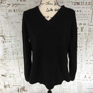 Tek Gear Fleece Pullover in Black sz XL